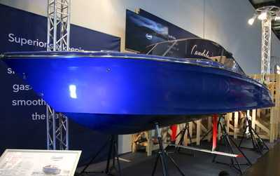 Candela - first electric powerboat on foils