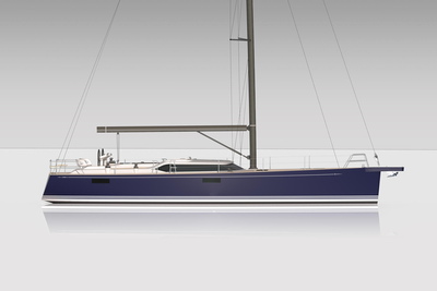 New Contest 55CS, good-looking fifty-five-feet beauty