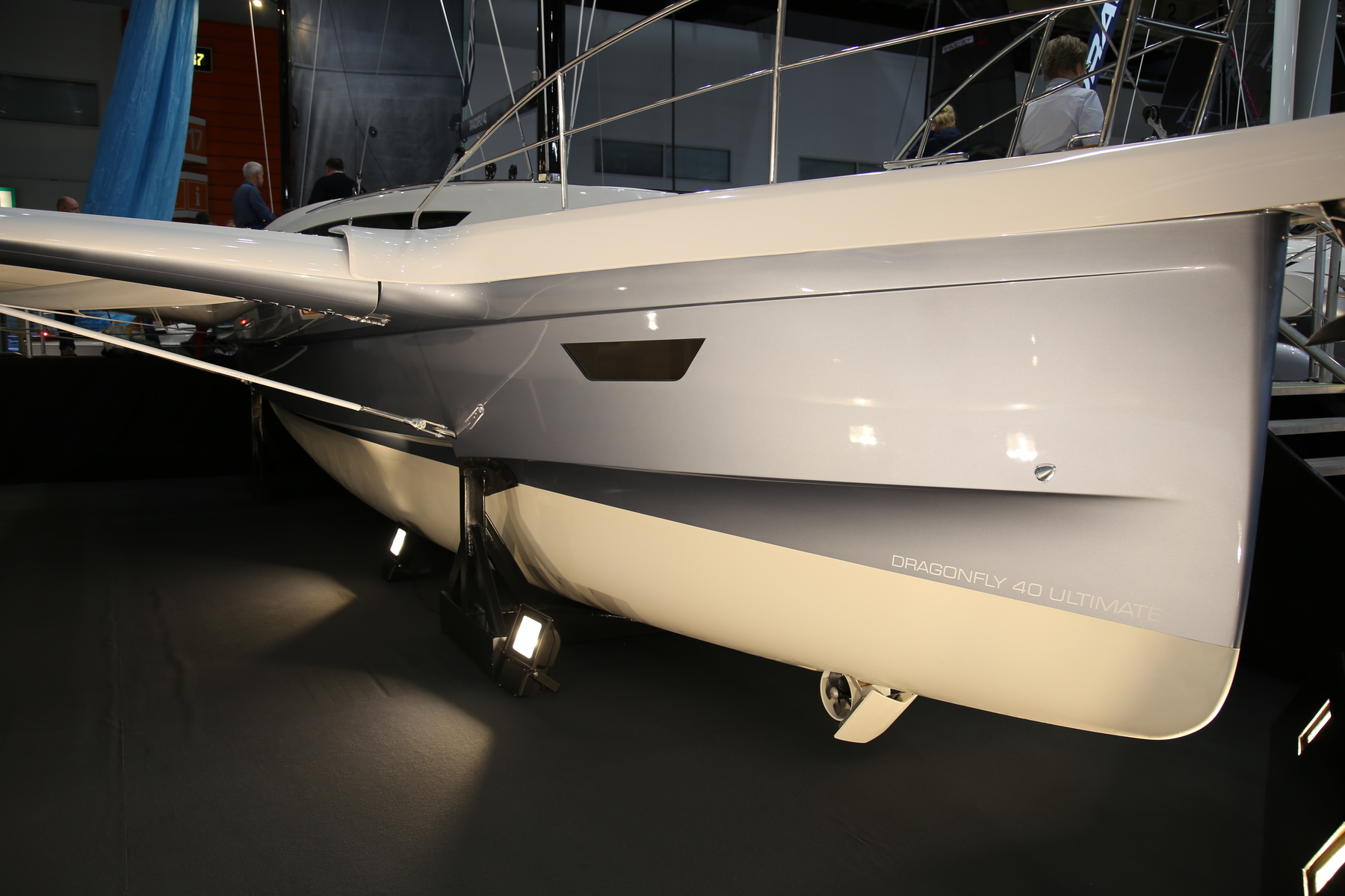 The all new Dragonfly 40 Performance Cruiser